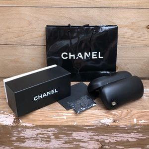 Chanel sunglasses case & packaging